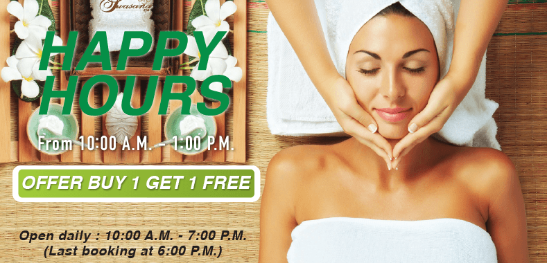 Happy Hours promotion on April