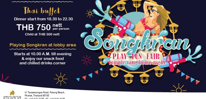 Celebrate the Thai New Year 2018, Songkran Festival