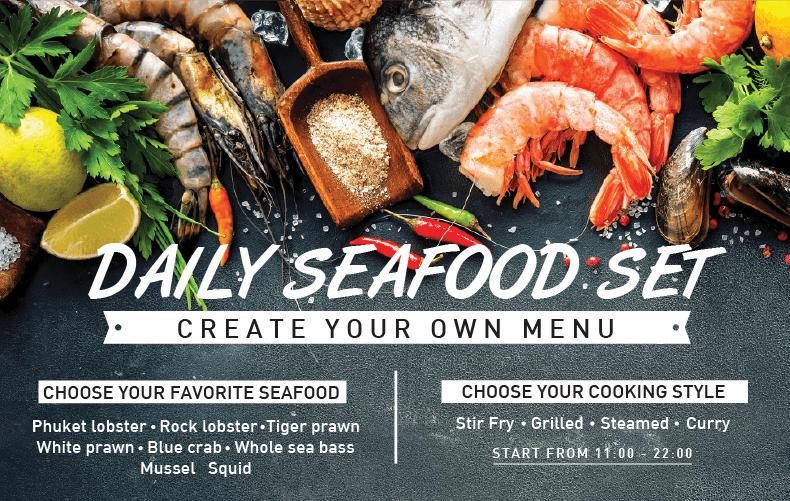 Daily Seafood set Impiana Resort Patong