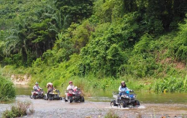 Program E4 Elephant camp, rafting 5 km, ATV 1 hour
