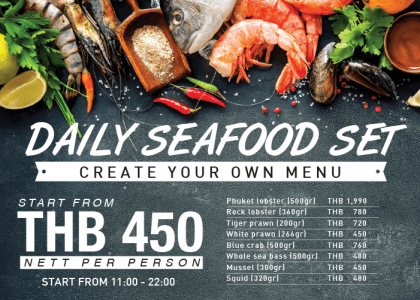 Daily Seafood Set