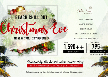 Beach Chill Out Christmas Eve Celebration