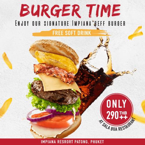 Burger Time FB post