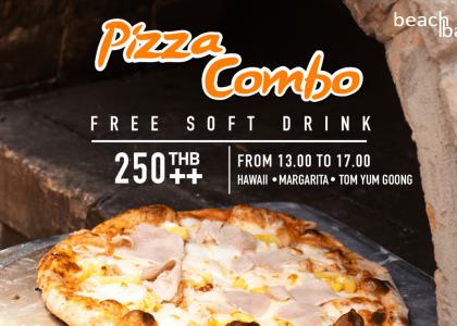 Pizza Combo @Beach Bar