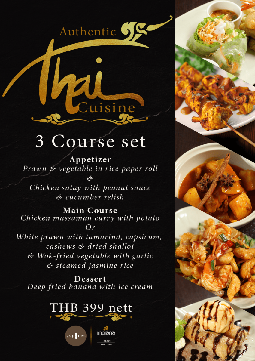 3 Spice Thai A4