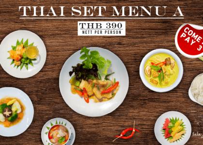 Thai Set Menu A