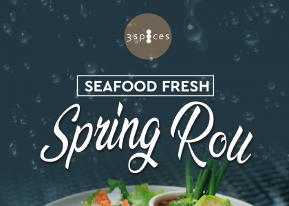Seafood Fresh Spring Roll