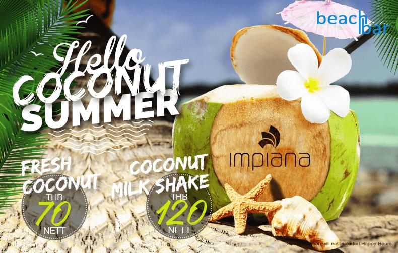 Coconut summet Banner